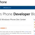 In den FAQ für Windows Phone Entwickler steht, das alle Apps, die zum Download bereit stehen, nun verschlüsselt werden. Damit reagiert Microsoft um der App Piraterie Einhalt zu gebieten und […]
