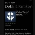 Der neue Teil von Call of Duty ist nun released. Passend dazu gibt es auch gleich die neue APP im Store. Hier die Funktionen: Download FUNKTIONEN: Nehmen Sie an Call […]