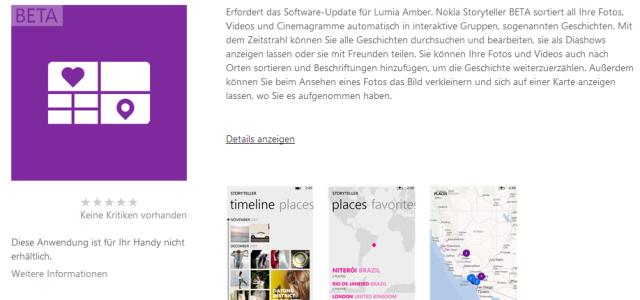 Nur der Download ist momentan nicht möglich. Nokia hat diese App in Verbindung mit dem Tablet Lumia 2520 in Abu Dhabi im letzten Monat vorgestellt. Die App ermöglicht die Organisation […]